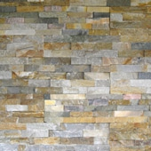 DESERT SAND LEDGE STONE-FLAT LOOK