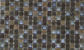 Chocolate 58x58 Glass Stone