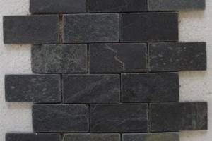 mosaic black 2x4 mosaic